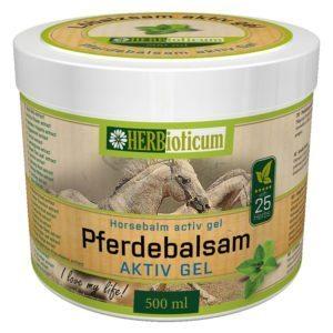 Herbioticum Lóbalzsam hűsítő 25 növényes 250ml