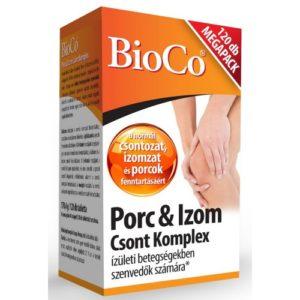 BioCo Porc & izom, csont komplex tabletta 120 db
