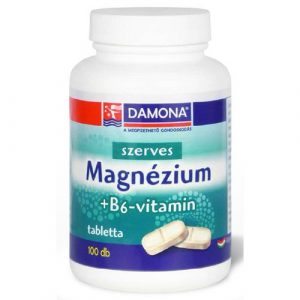 DAMONA Szerves magnézium  + B6 vitamin tabletta 100 db