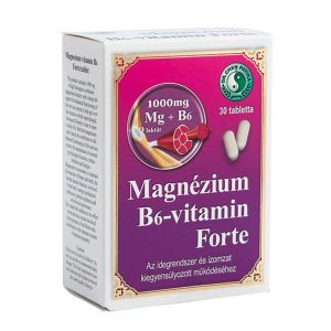 Dr. Chen Magnézium B6 vitamin forte tabletta 30 db