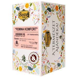 Boszy: Femina komfort (női teakeverék) 20 db/filter