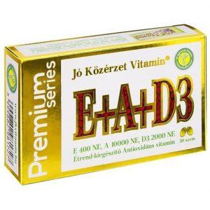 Jó Közérzet Vitamin E-A-D3 vitamin kapszula 30 db