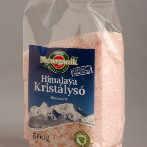 NATURGANIK Himalaya kristálysó rószaszín 500g