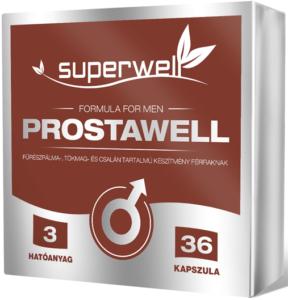 Superwell Prostawell kapszula 36 db