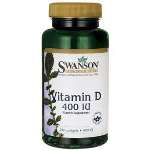 Swanson D & A vitamin lágyzselatin kapszula 250 db