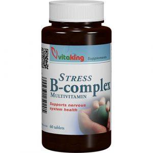 VITAKING Stressz B-komplex multivitamin tabletta 60 db