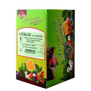 Boszy Ginkgo-narancs zöld tea 20 db/filter