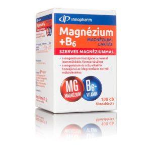 Innopharm Magnézium laktát + B6 vitamin tabletta 100 db