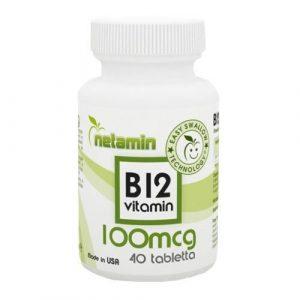NETAMIN B12 vitamin tabletta 40 db