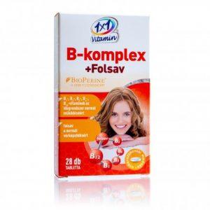 1X1 vitamin B-komplex + folsav 28 db