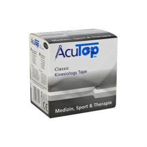 ACUTOP CLASSIC Kineziológiai tapasz 5cm x 5m fekete