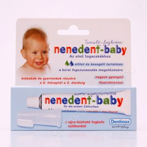 NENEDENT BABY Tanuló fogkrém+fogkefe 20ml