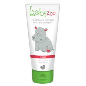 Babyzoo babafürdető és sampon 200 ml