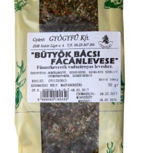 Gyógyfű Bütyök bácsi fácánleves fűszerkeverék 50g