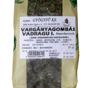 Gyógyfű Vargányagombás vadragu I. fűszerkeverék 50g