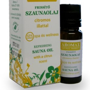 Aromax Frissítő szaunaolaj 10ml