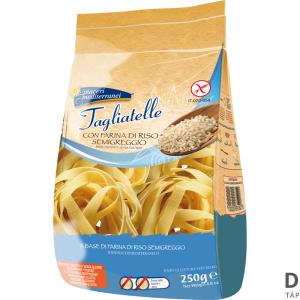Piaceri Med Tagliatelle Gluténmentes rizstészta 250g