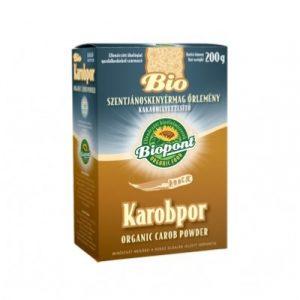 Biopont Bio karobpor dobozos 200g