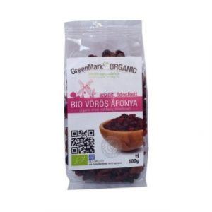 Greenmark Bio Vörösáfonya 100g