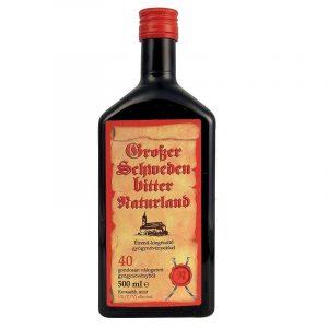 NATURLAND Nagy svédcsepp 40 gyógynövény 1% alkohol tartalmú 500ml