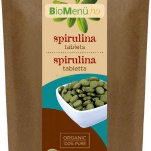 Bio Biomenü spirulina tabletta 125g