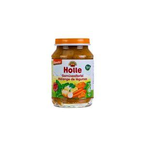 BIO HOLLE Bébiétel vegyes zöldség 190g