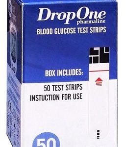 DropOne Vércukormérő tesztcsík