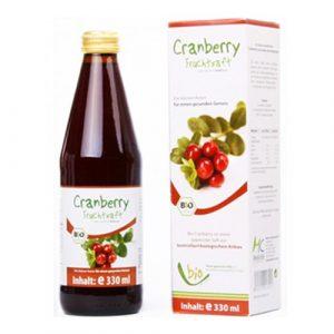 Medicura Bio  tőzegáfonya 100% gyümölcslé 330 ml