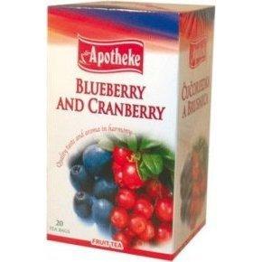 Apotheke tea Áfonya – tőzegáfonya 20 db filter