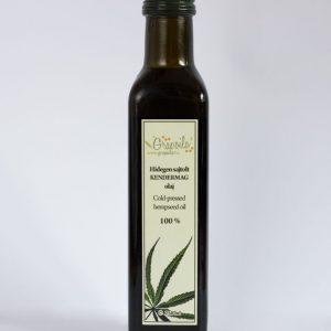 GRAPOILA hidegen sajtolt  kendermag olaj 250 ml