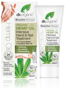 Dr. Organic intenzív kéz és körömápoló bioaktív kendermagolajjal 100 ml