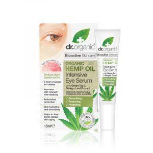 Dr. Organic intenzív szemszérum bioaktív kendermagolajjal 15 ml