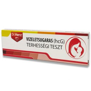 DR.HERZ VIZELETSUGARAS (10 MLU/ML HCG)TERHESSÉGI TESZT 1DB
