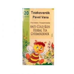 PAVEL VANA TEAKEVERÉK ANTI-COLD HERBAL GYERMEKEKNEK FILTERES 20D