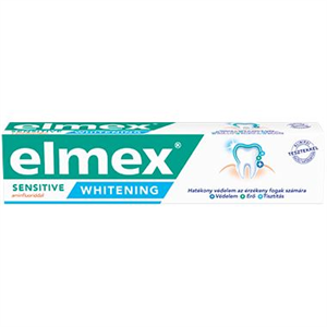 ELMEX SENSITIVE WHITENING fogkrém érzékeny fogakra